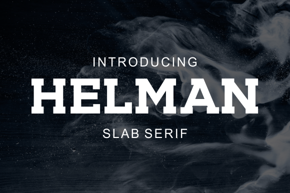 Print on Demand: Helman Serif Font By LetterBeary