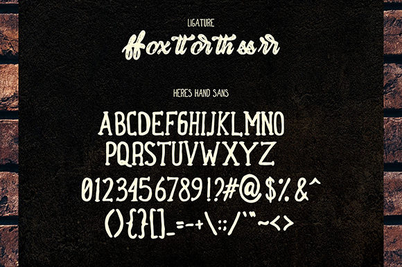 Herey Duo Font By InspiraType Image 12