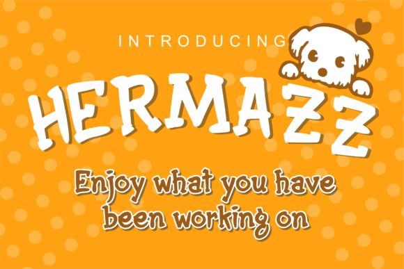 Print on Demand: Hermazz Display Font By DUMADI