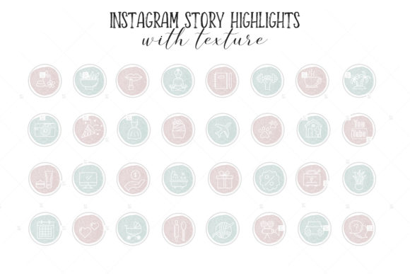 Instagram Highlight Covers Graphic Icons By switzershop - Image 2