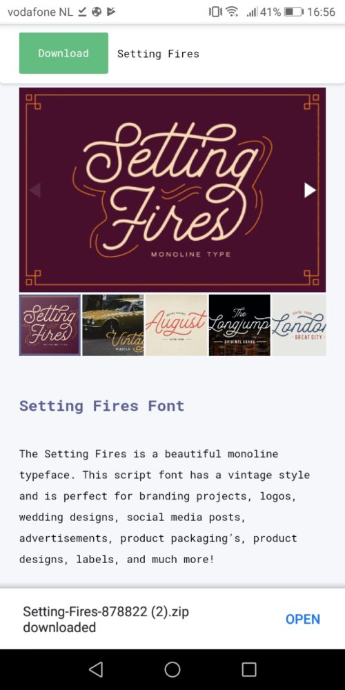 How To Install Fonts On Android - Creative Fabrica
