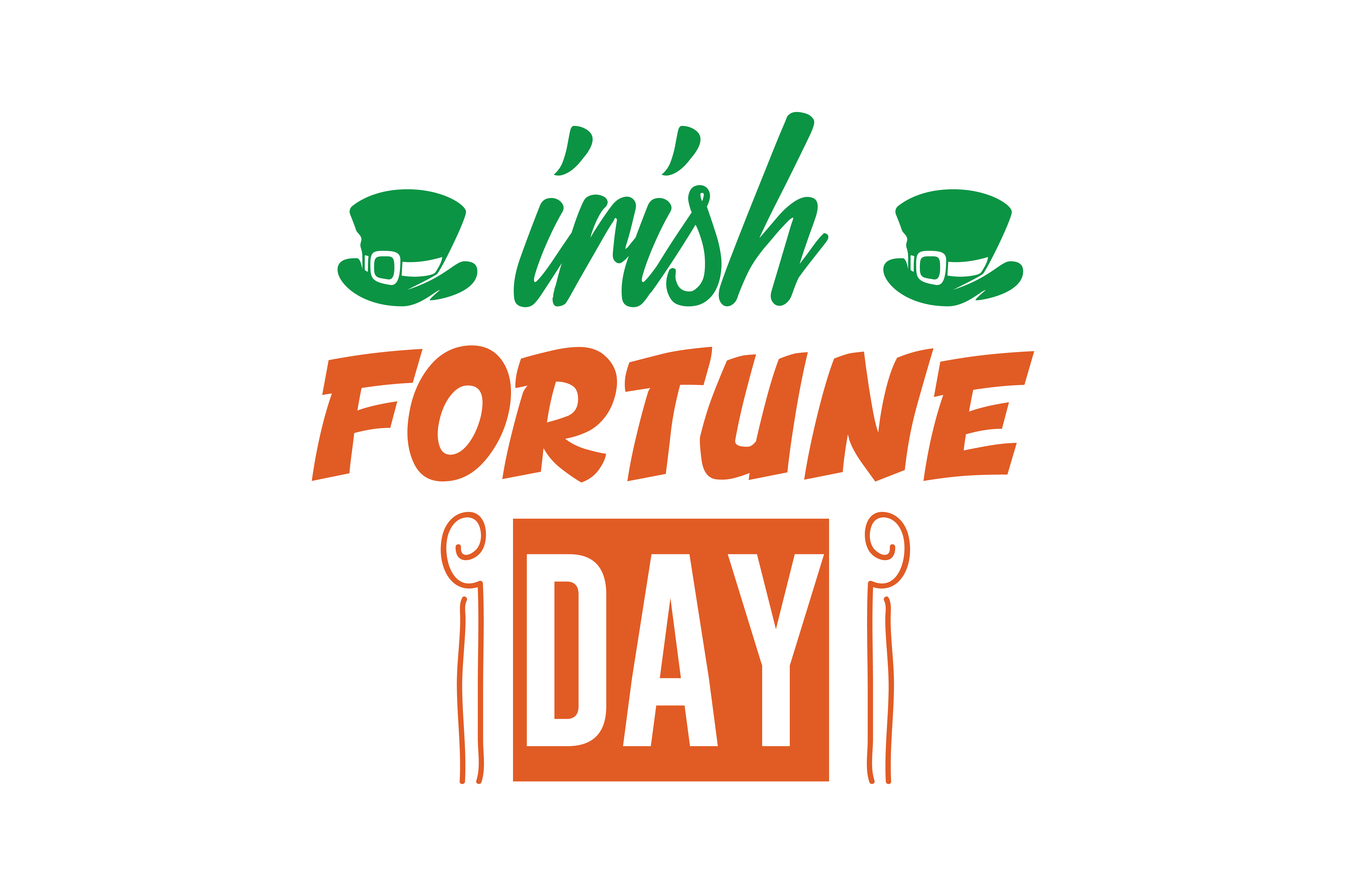 Download Free Irish Fortune Day Quote Svg Cut Graphic By Thelucky Creative for Cricut Explore, Silhouette and other cutting machines.
