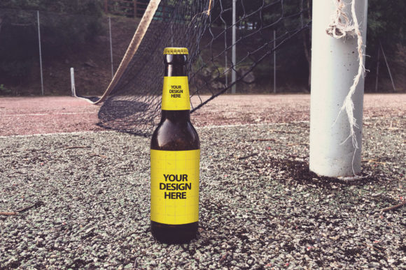 It's Abandoned Beer Graphic Product Mockups By SmartDesigns