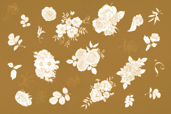 January Flowers Graphic Illustrations By webvilla - Image 6