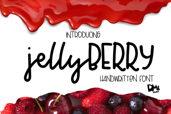 Print on Demand: Jelly Berry Script & Handwritten Font By Patricia (DMStd)