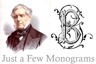 Just a Few Monograms Font By Intellecta Design