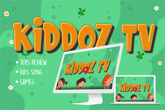 Download Free Kids Zone Font By Figuree Studio Creative Fabrica for Cricut Explore, Silhouette and other cutting machines.