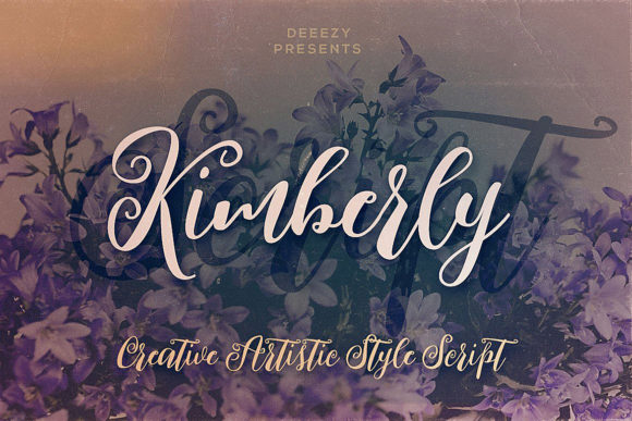 Kimberly Script Script & Handwritten Font By JumboDesign