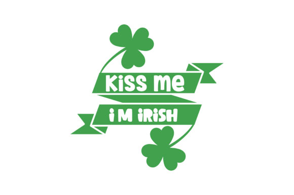Download Free Kiss Me I M Irish Quote Svg Cut Graphic By Thelucky Creative for Cricut Explore, Silhouette and other cutting machines.