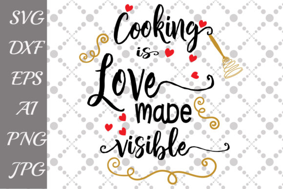 Kitchen Quote Graphic Crafts By prettydesignstudio - Image 1