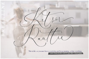 Kitsor Rauttie Font By Mercurial