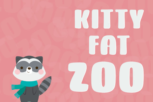 Print on Demand: Kitty Fat Script & Handwritten Font By Dasagani - Image 3
