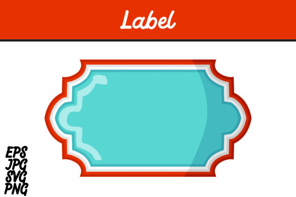Print on Demand: Label Vector Image Graphic Icons By Arief Sapta Adjie II