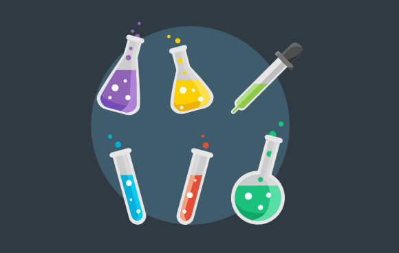 Laboratory Collection Graphic Illustrations By rhendysikoembang