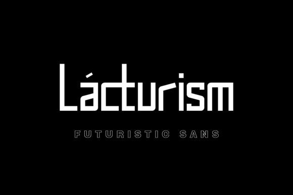 Print on Demand: Lacturism Sans Serif Font By Regalëy_21