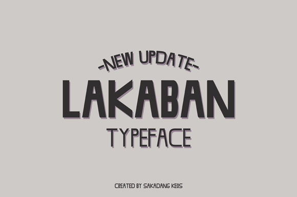Print on Demand: Lakaban Sans Serif Font By Terminal Kota - Image 1