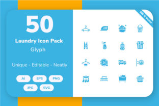 Laundry - Glyph Graphic By Icon Stale