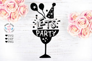 Download Free Let S Party Birthday Party Cut File Grafico Por Graphichousedesign Creative Fabrica SVG Cut Files