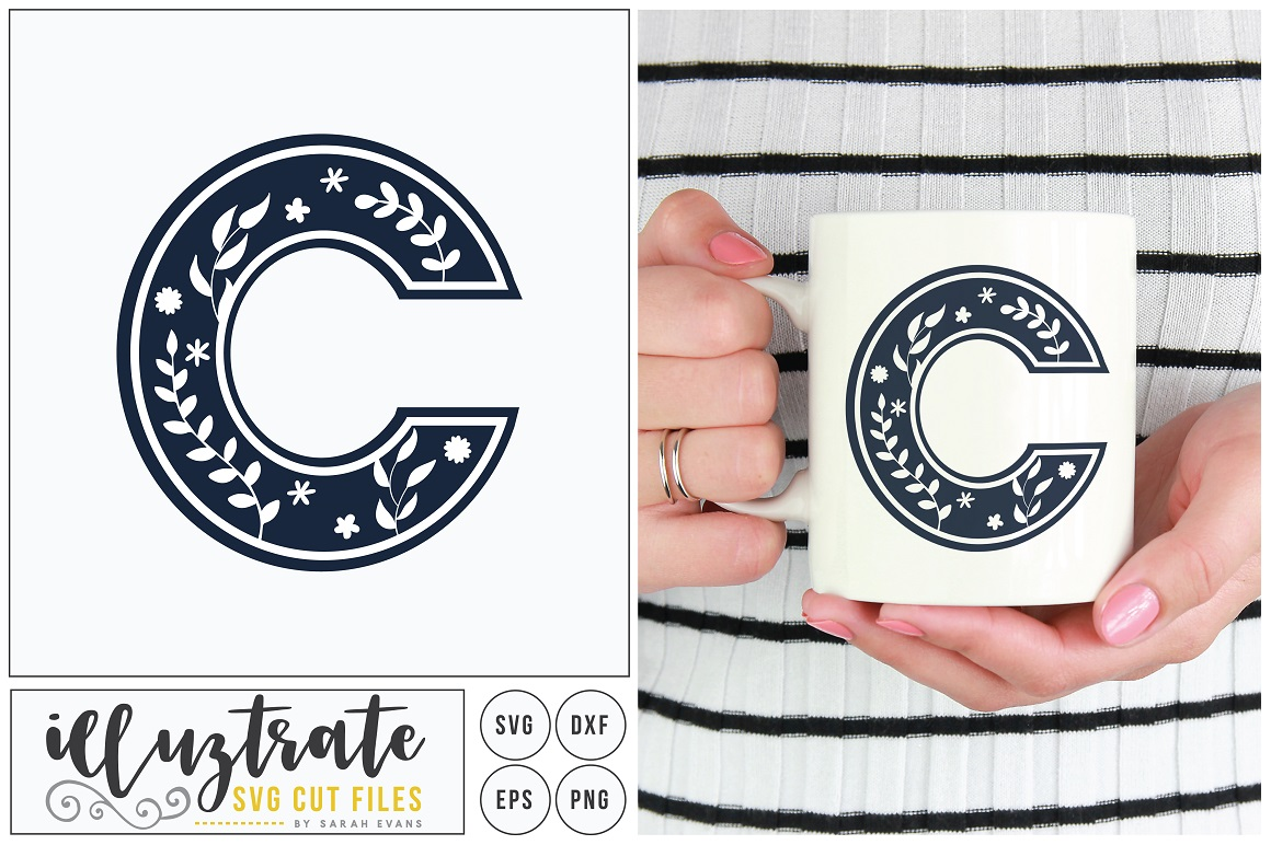 Letter C Svg Alphabet Graphic By Illuztrate