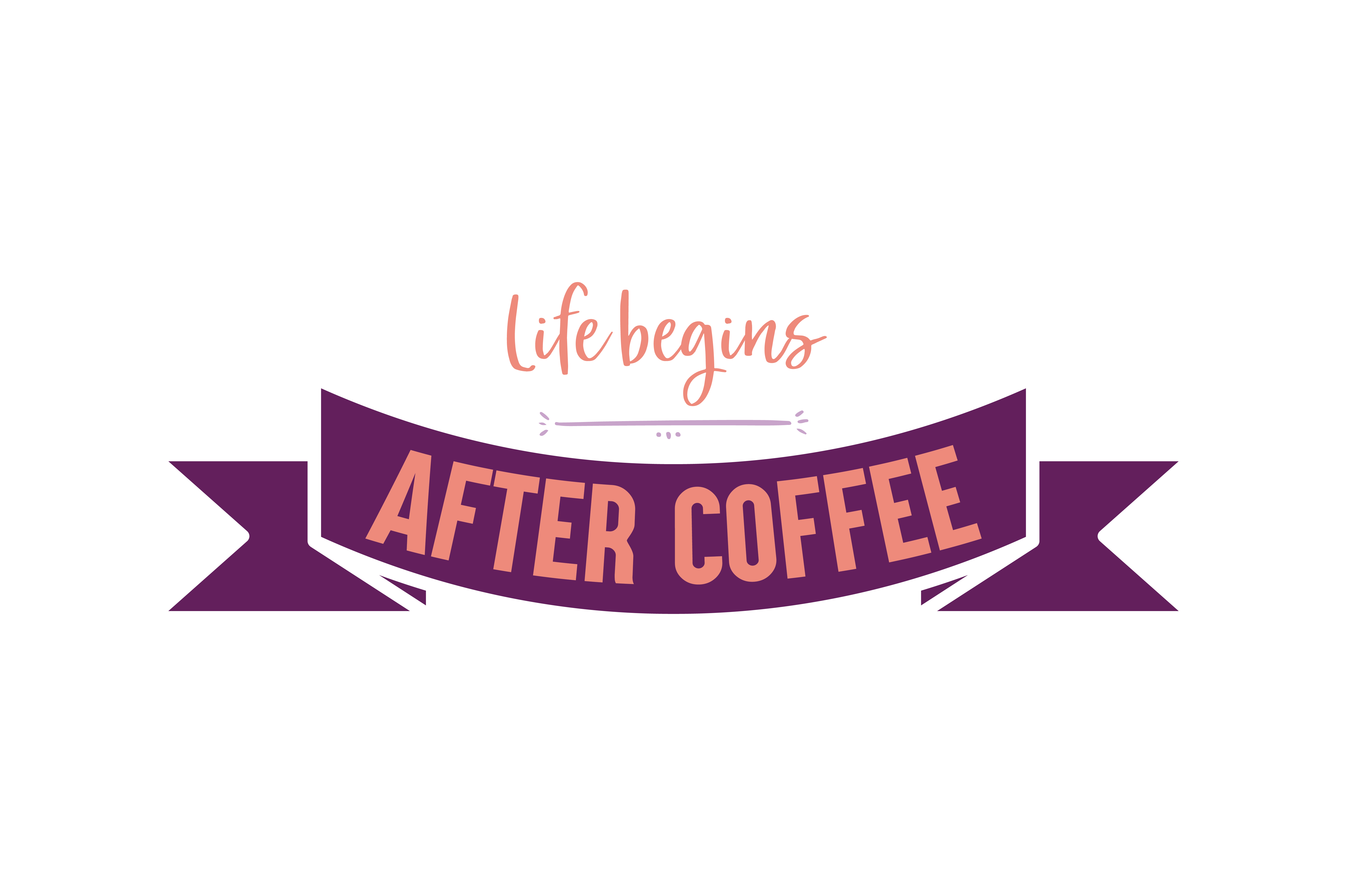 Download Free Life Begins After Coffee Quote Svg Cut Graphic By Thelucky for Cricut Explore, Silhouette and other cutting machines.