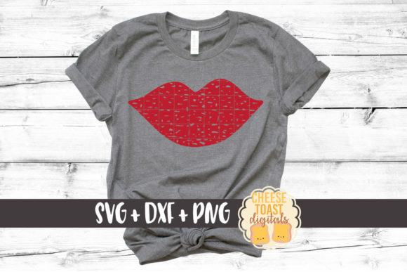 Download Free Lips Distressed Graphic By Cheesetoastdigitals Creative Fabrica for Cricut Explore, Silhouette and other cutting machines.