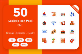 Logistic - Flat Graphic By Icon Stale