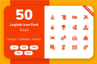 Logistic - Glyph Graphic By Icon Stale