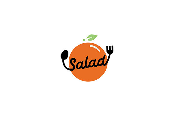 Logo Salad Restaurant Vector Icon Graphic Logos By indostudio - Image 1
