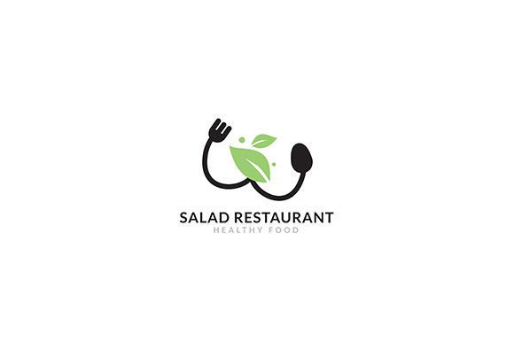 Logo Salad Restaurant Vector Icon Graphic Logos By indostudio