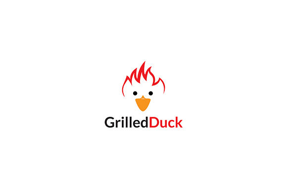 Logo Grilled Duck Restaurant Graphic Logos By indostudio