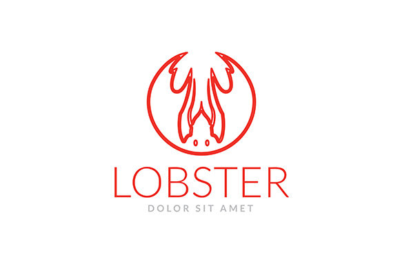 Logo Lobster Restaurant Graphic Logos By indostudio