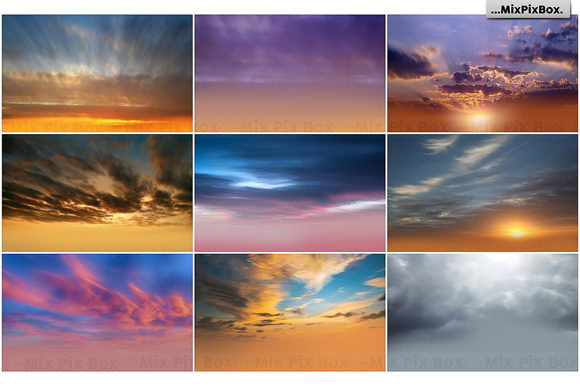 Download Free Long Exposure Sky Overlays Grafico Por Mixpixbox Creative Fabrica for Cricut Explore, Silhouette and other cutting machines.