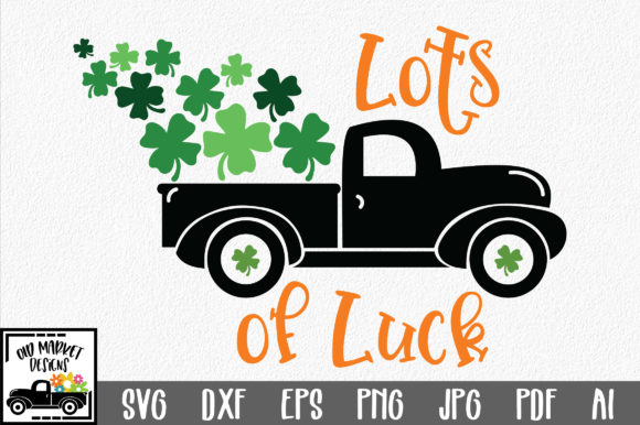 Lots of Luck SVG