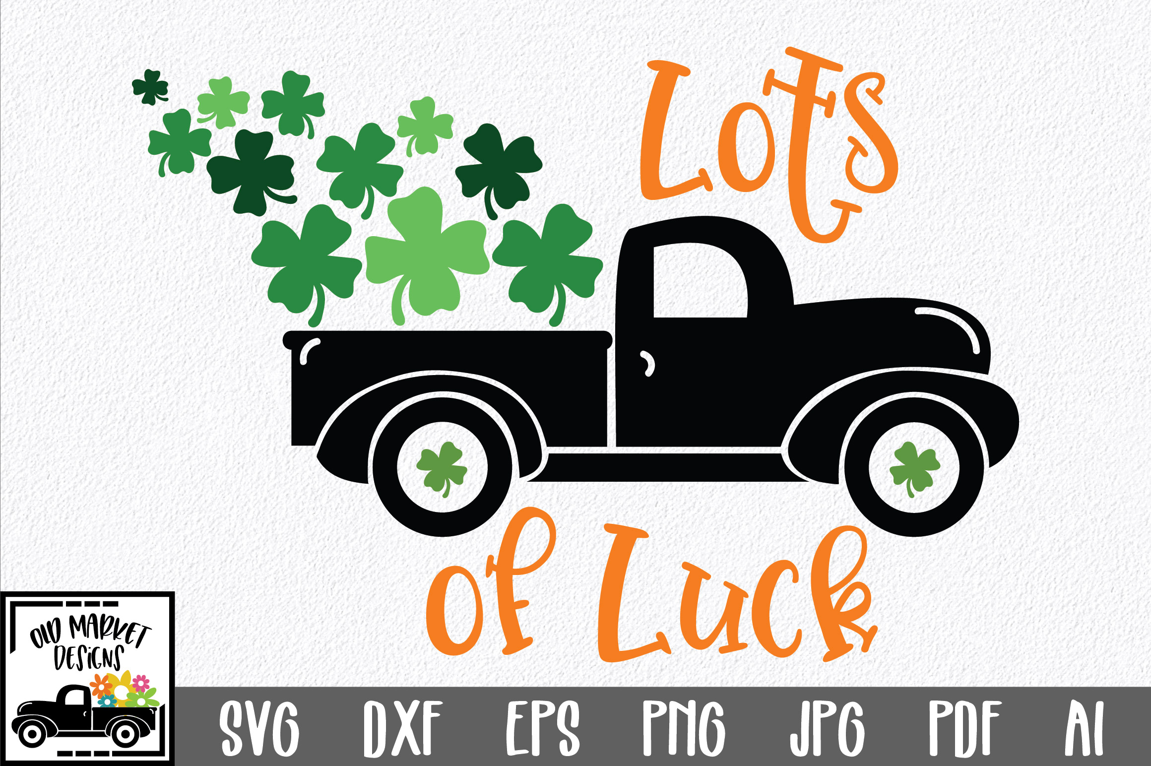 Download Free Lots Of Luck Svg Graphic By Oldmarketdesigns Creative Fabrica for Cricut Explore, Silhouette and other cutting machines.