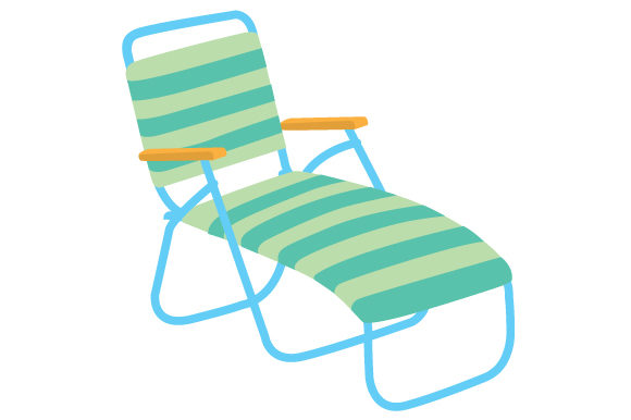 Lounge Chair Sports Craft Cut File By Creative Fabrica Crafts