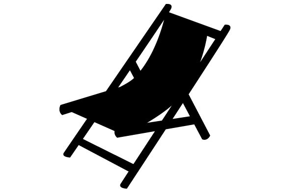 Lounge Chair Silhouette Sports Craft Cut File By Creative Fabrica Crafts