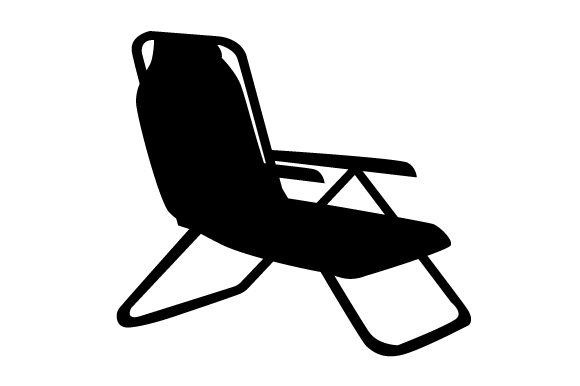 Download Free Lounge Chair Silhouette Svg Cut File By Creative Fabrica Crafts SVG Cut Files