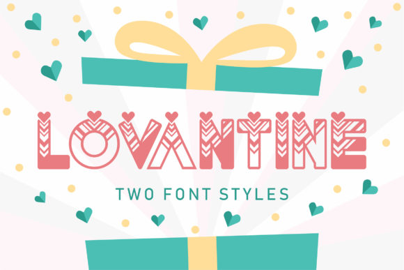 Print on Demand: Lovantine Display Font By Orenari - Image 1