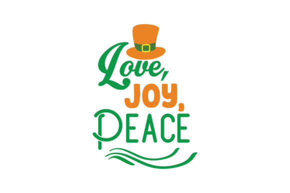 Download Free Love Joy Peace Quote Svg Cut Graphic By Thelucky Creative for Cricut Explore, Silhouette and other cutting machines.