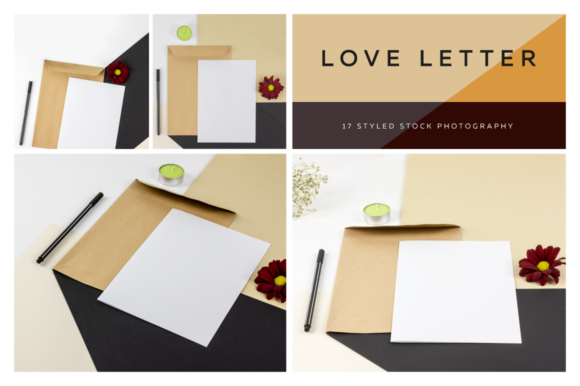 Love Letter Styled Photo Scene Graphic Product Mockups By dumitrasconiu.design