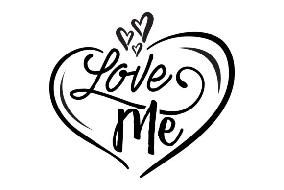 Download Free Love Me Svg Cut File By Creative Fabrica Crafts Creative Fabrica for Cricut Explore, Silhouette and other cutting machines.