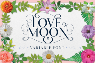 Love Moon Family Font By Genilson Santos