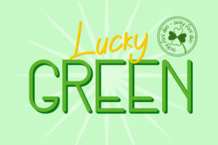 Lucky Green Duo Script & Handwritten Font By attypestudio