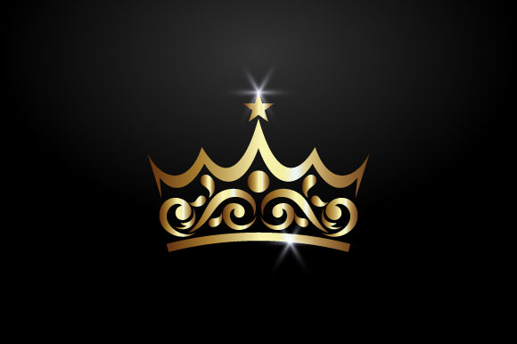 Download Free Luxury Crown Logo Graphic By Hartgraphic Creative Fabrica SVG Cut Files