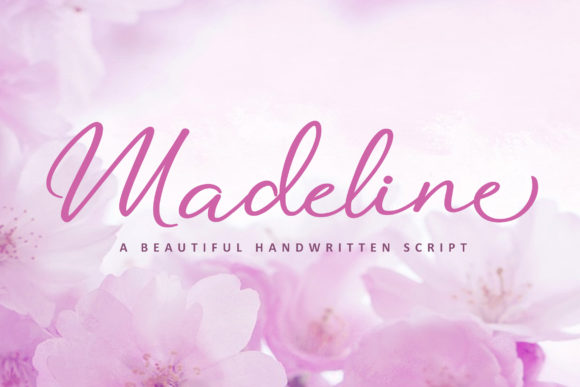 Print on Demand: Madeline Script & Handwritten Font By Subectype