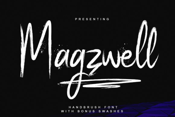 Magzwell Script & Handwritten Font By Ardian Nuvianto