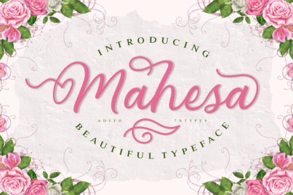 Print on Demand: Mahesa Script & Handwritten Font By Adyfo (7NTypes)