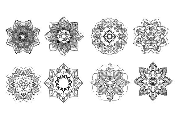 Print on Demand: Mandala Coloring Pages Graphic Coloring Pages & Books Adults By GraphicsFarm