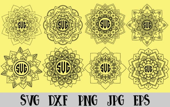 Download Free Mandala Bundle Graphic By Goran Stojanovic Creative Fabrica for Cricut Explore, Silhouette and other cutting machines.