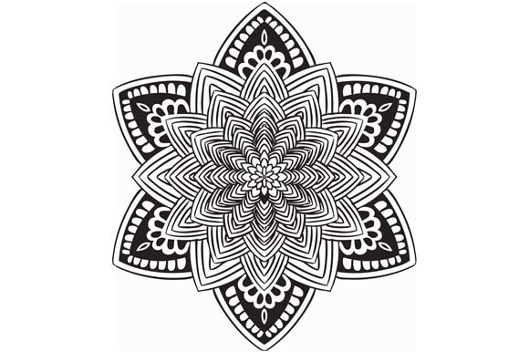 Download Free Mandala Pack Illustration Design Graphic By Redsugardesign for Cricut Explore, Silhouette and other cutting machines.